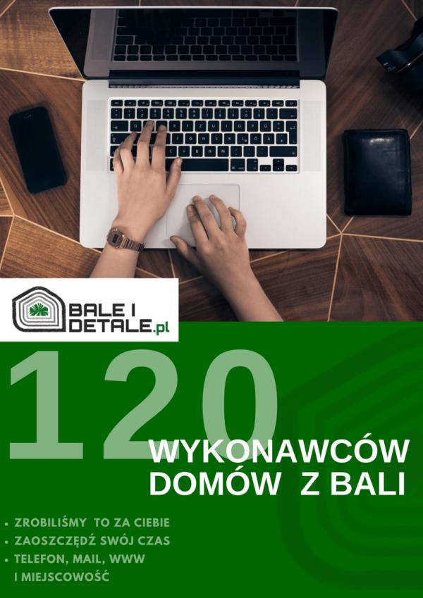 120 wykonawców domów z bali, domów drewnianych