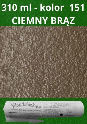 WoodChink 310 ml – kolor 151 CIEMNY BRĄZ