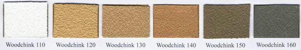 wzornik kolorów woodchink