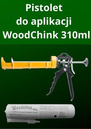 Pistolet do aplikacji uszczelniacza WoodChink Sylikonu 310ml 2